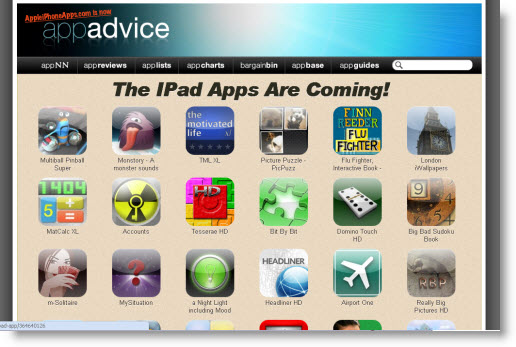 Alle de nye apps til iPad i Apples App Store