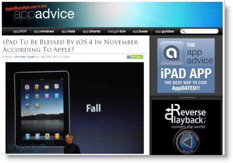 Skal vi vente med at få iOS4 på vores ipads til november?