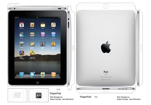 Lav selv din iPad i papir