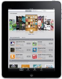 App Store hvordan den ser ud på iPad